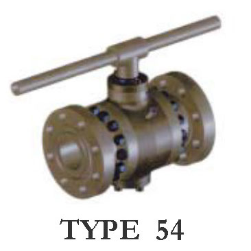 Type 54 Trunnion Mounted Ball Valve
